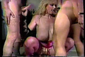 Big Tittie Blonde Gangbang